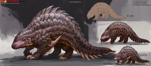 2017Lesson02 Scaled Creature by DongjunLu