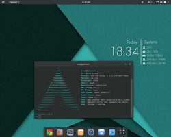 #gnome 3.16 on #archlinux by Localizator
