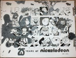 25 Years of Nicktoons (Design 08) by Nicktoon-Grl