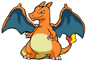 #006 Charizard by Flickering-Flames