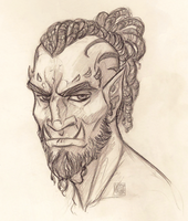 Orc Guy Challenge - AngelicAdonis by Sleyf