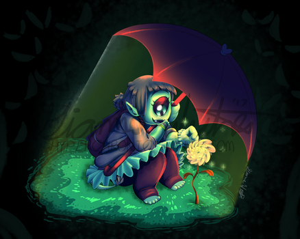 Protecting a Blooming Blossom by HyperChronic