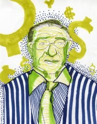 Alan Greenspan and his Pension by mmiller8