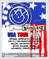 blink 182 us tour 2004 by operation182