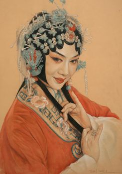 Beijing Opera actresses by william690c