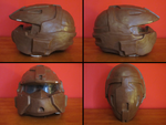 PROP MAKING - Halo 3 Rogue Helmet 05 by VR-Robotica