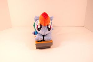 Rainbow Dash Beanie by The-Night-Craft