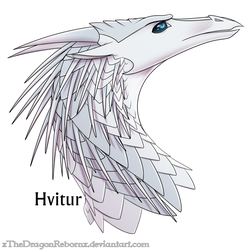 WoF H-a-D Day 19 - Hvitur by xTheDragonRebornx