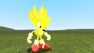 Super Sonic (With Glow) by ChowderXPanini1337