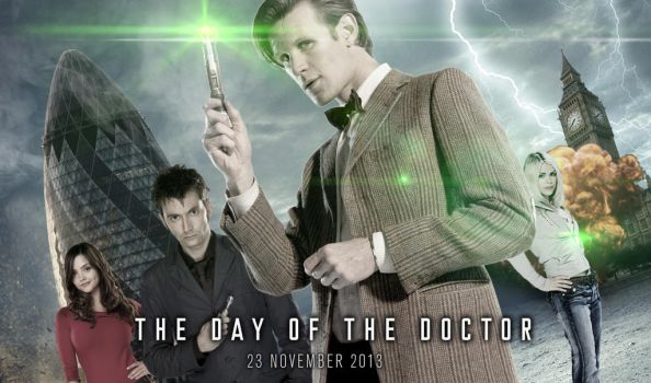 Doctor Who : The Day of the Doctor by gg29
