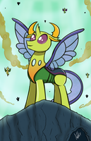 King Thorax (Patreon Reward- June 2017) by LadyAniDraws