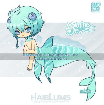 RAFFLE-FLAT SALE: Morning Dew Haiblum (CLOSED) by Mad-Izoku