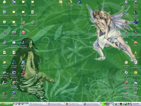 Fairy Desktop by amandajean