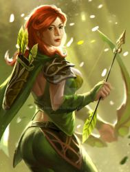 Buffed Wind Ranger Dota2 by KeiNhanGia