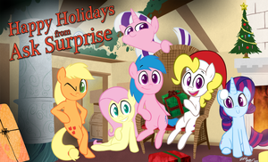 Happy Holidays from Ask Surprise! by WillDrawForFood1