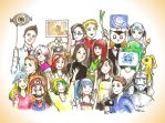 Big family of watchers by nevermindgirl1970