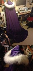 Frozen!Edward Elric Cosplay WIP: Cloak by R-Spanner