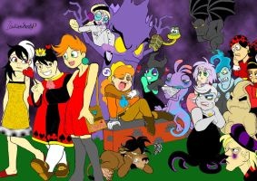 The Villains' College-4A by ItalianShorty
