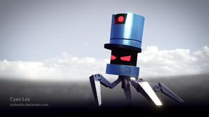 Stealth Bastard - Angry Spider Robot Thingy by tushantin