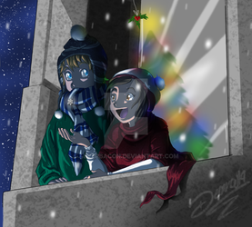 SS: Christmas Night by 4everbacon