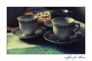coffee for three by csaby1