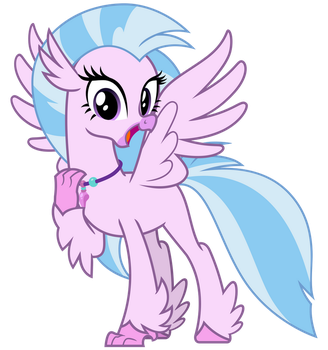 Silverstream the Hippogriff by cheezedoodle96