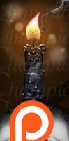 Skull Candle by Championx91