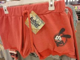 Red Oswald Shorts from Target by WilburySteve