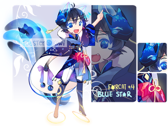 [CLOSED] Auction Adopt: Forcat #4 by ToasterKiwi
