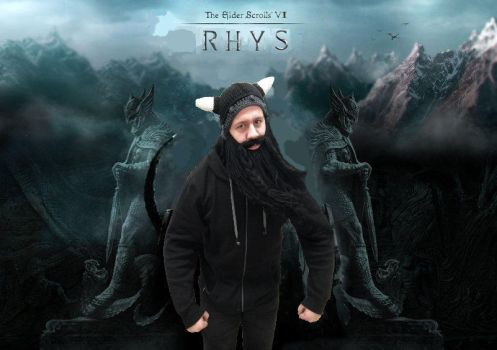 Skyrim Photo Edit Rhys By Dfox20 by dfox20