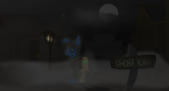 Ghost Town Alive? by TwistO-FatePooka