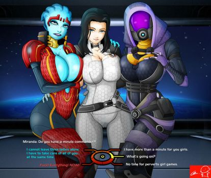 Mass Effect: Miranda Team by Witchking00