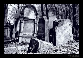 A Jewish cemetery by LuciusThePope