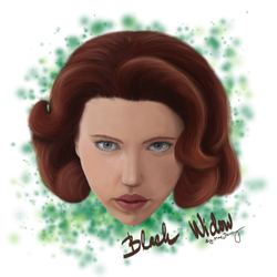 Avengers: Black widow by GamingCatsStudio