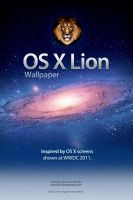 Mac OS X Lion Wallpaper by mauricioestrella