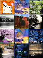 Set of 12 LiveJournal Icons by Milanity