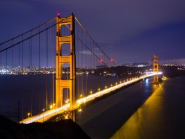 The Golden Gate by thevictor2225