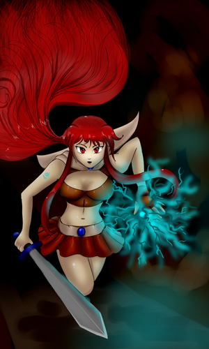 Contest Entry #3 Jezebella by TheGrigoriAnime
