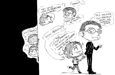 (Supernatural X Persona of Interest): Come,Sammy! by Milky-Nya