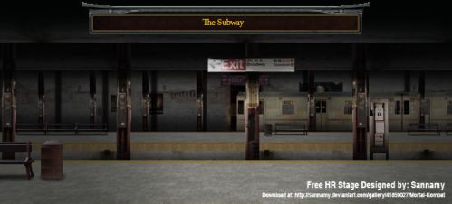 The SubWay (MUGEN STAGE) by sannamy