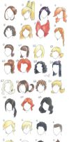 Hairstyles by punki123