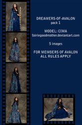 Dreamers of Avalon Pack 1 by FairieGoodMother