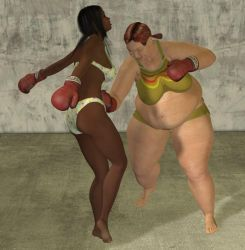 Women's Boxing 2 by cattle6