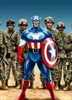 Captain America - The Icon by Robert-Shane