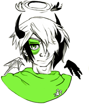 Gaia Avatar Art Colored by MurderousTrees