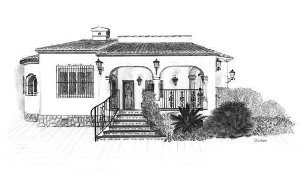Spanish house final by van27