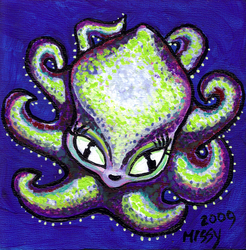 Green Baby Octi by Catsbah