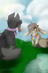 Jake and lacey by lillie04