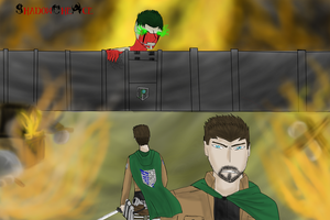 Attack on Septiceye (Jacksepticeye) by ShadowTheAce