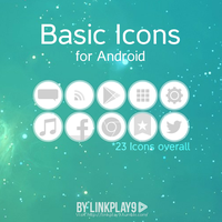 Basic Icons for Android by LinkPlay9